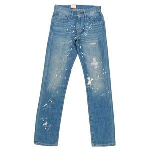 Levi's • 511 Dyed Distressed Slim Fit Jeans
